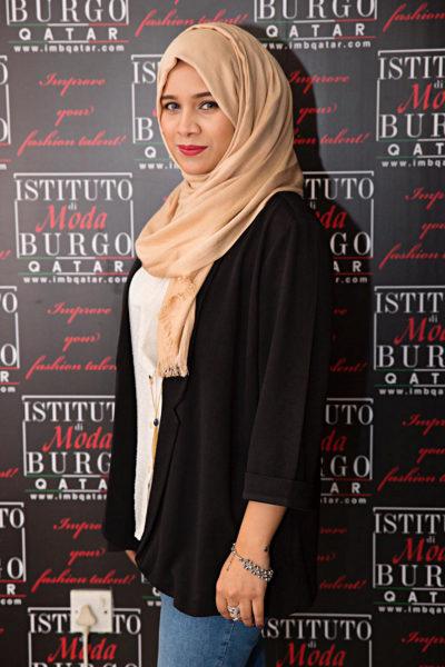 Qatar Fashion School student